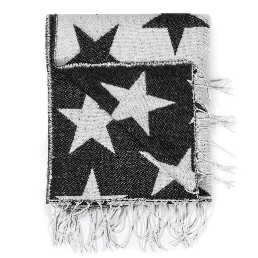 шарф со звездами