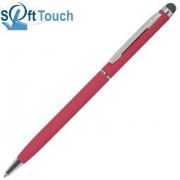 Красная ручка со стилусом TouchWriter Soft